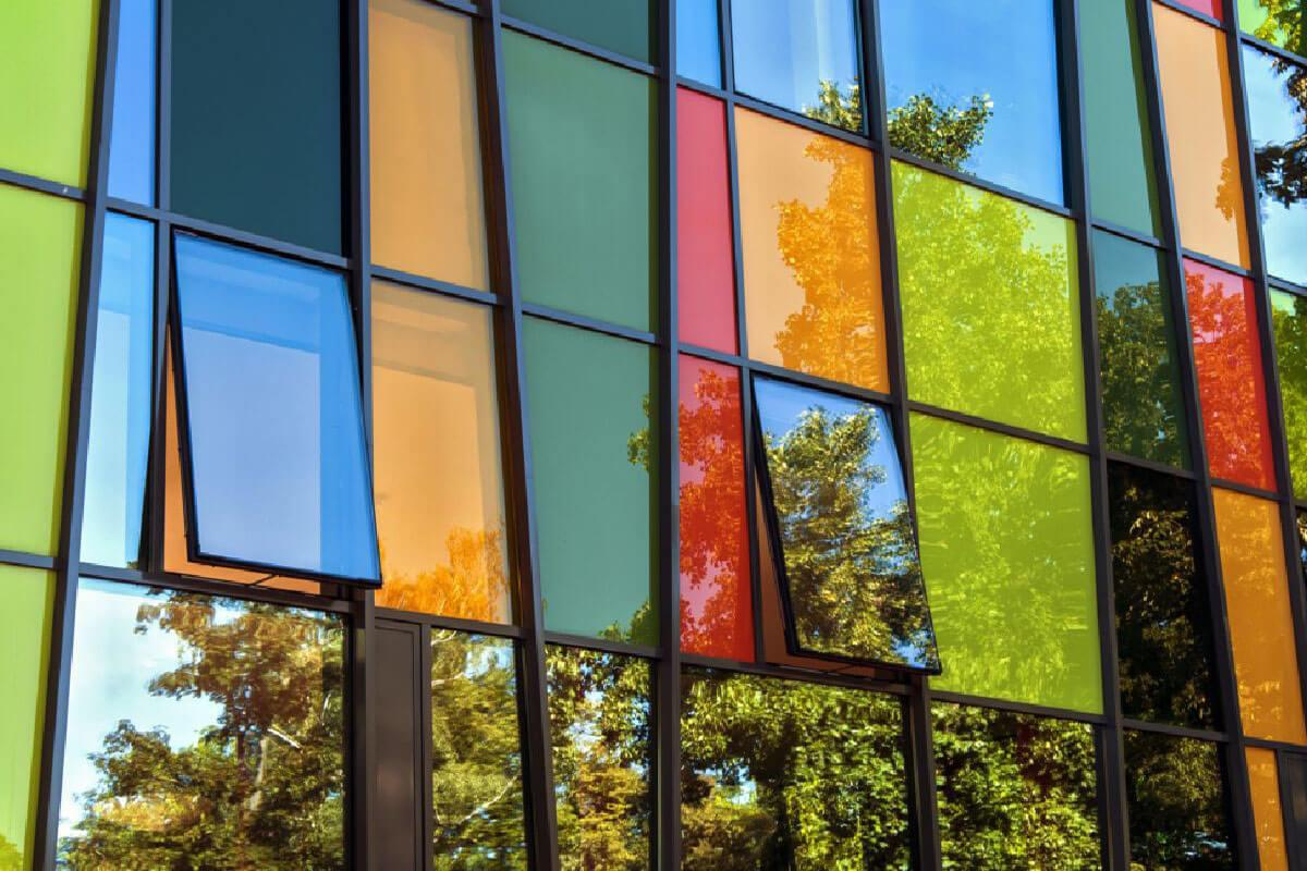 Coloured Aluminium Windows York